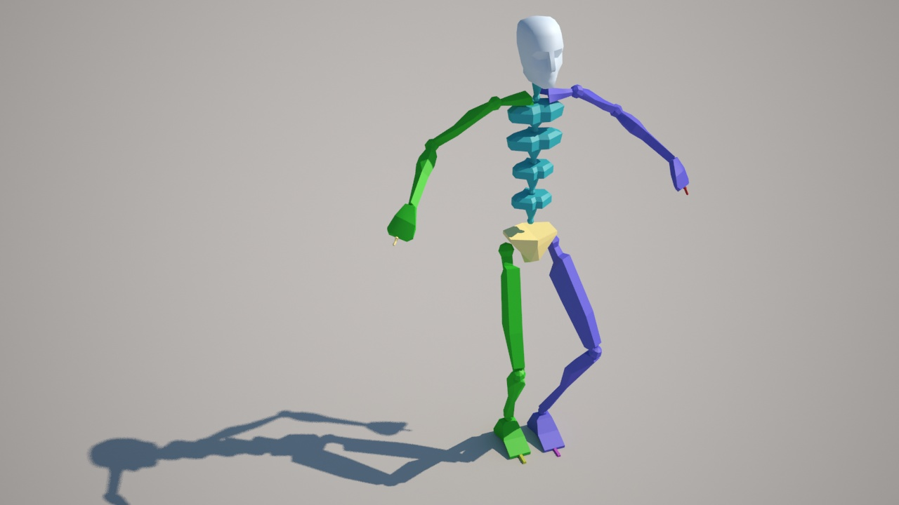 Biped Motion-Capturing for 3ds max with the Kinect (2)