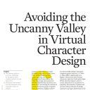 Avoiding the Uncanny Valley in Virtual Character Design