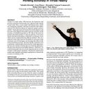 Up to the Fingertip: The Effect of Avatars on Mid-Air Pointing Accuracy in Virtual Reality