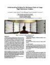 Understanding Pointing for Workspace Tasks on Large High-Resolution Displays