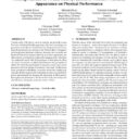 Flexing Muscles in Virtual Reality: Effects of Avatars' Muscular Appearance on Physical Performance