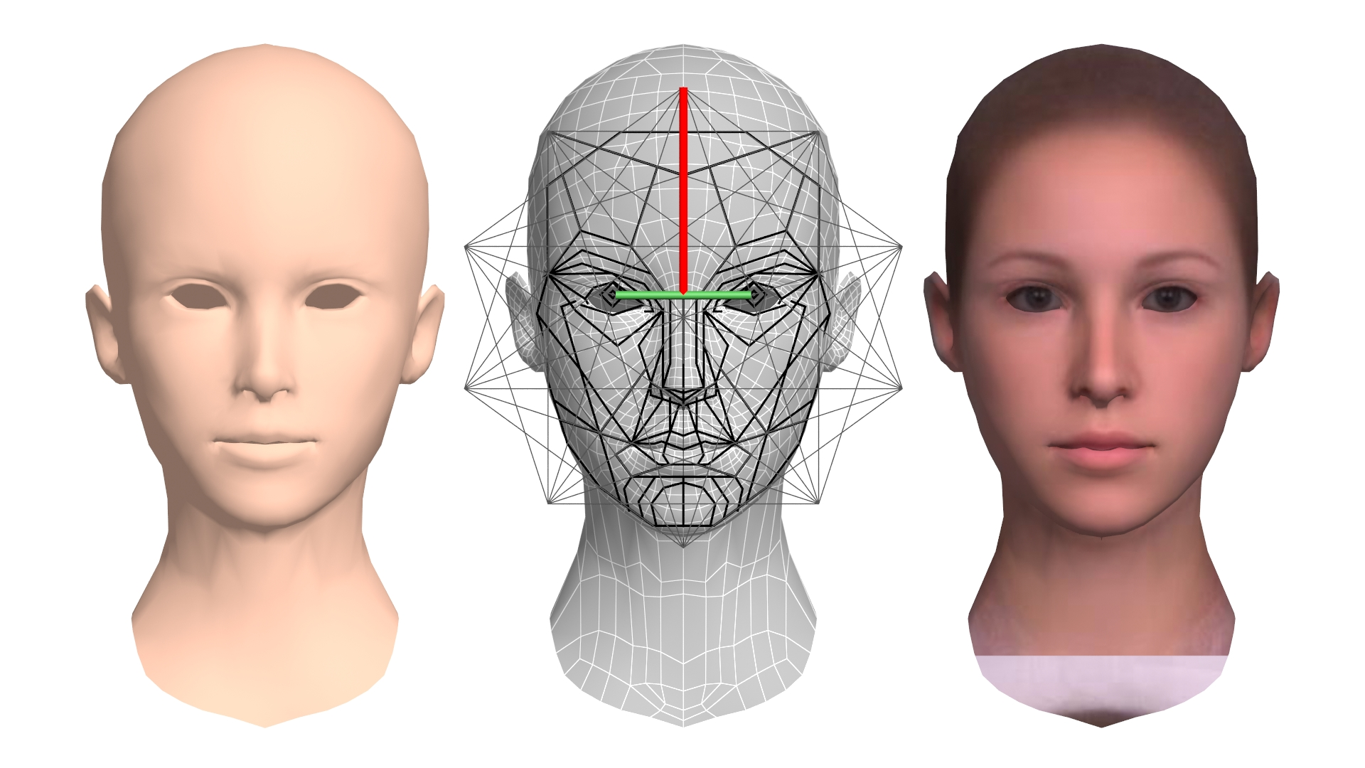 Image software facial